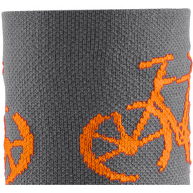 """DeFeet Aireator 3"""" Chaussettes, townee/grey"""
